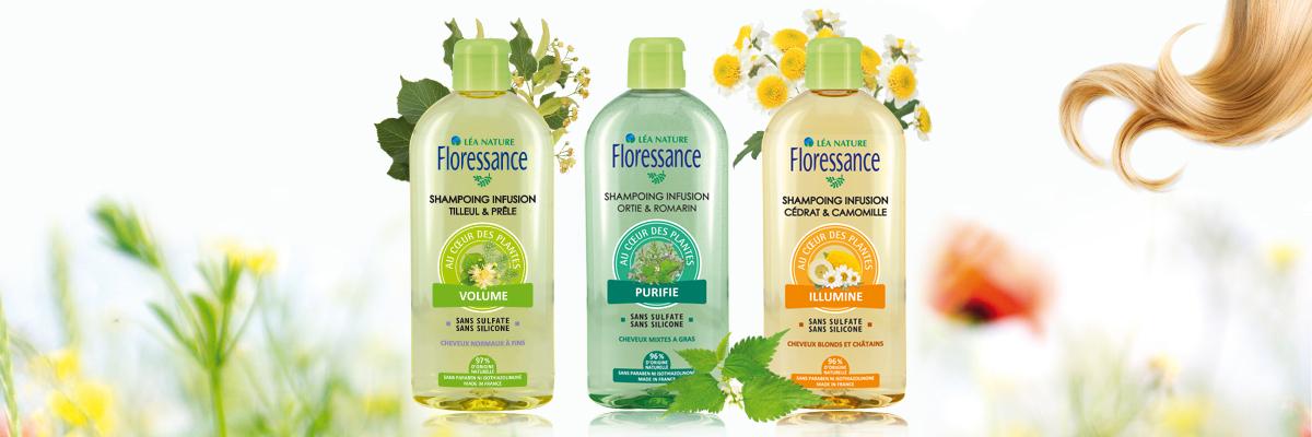 10 innovation floressance les shampoings infusion - Les nouveautés Floressance par Léa Nature